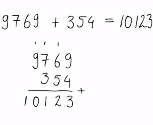 hele getallen, Oefenen met meerdere keren onthouden