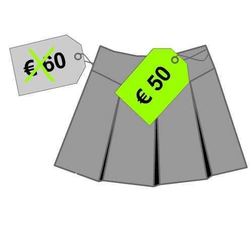kortingspercentage berekenen bij aankoop