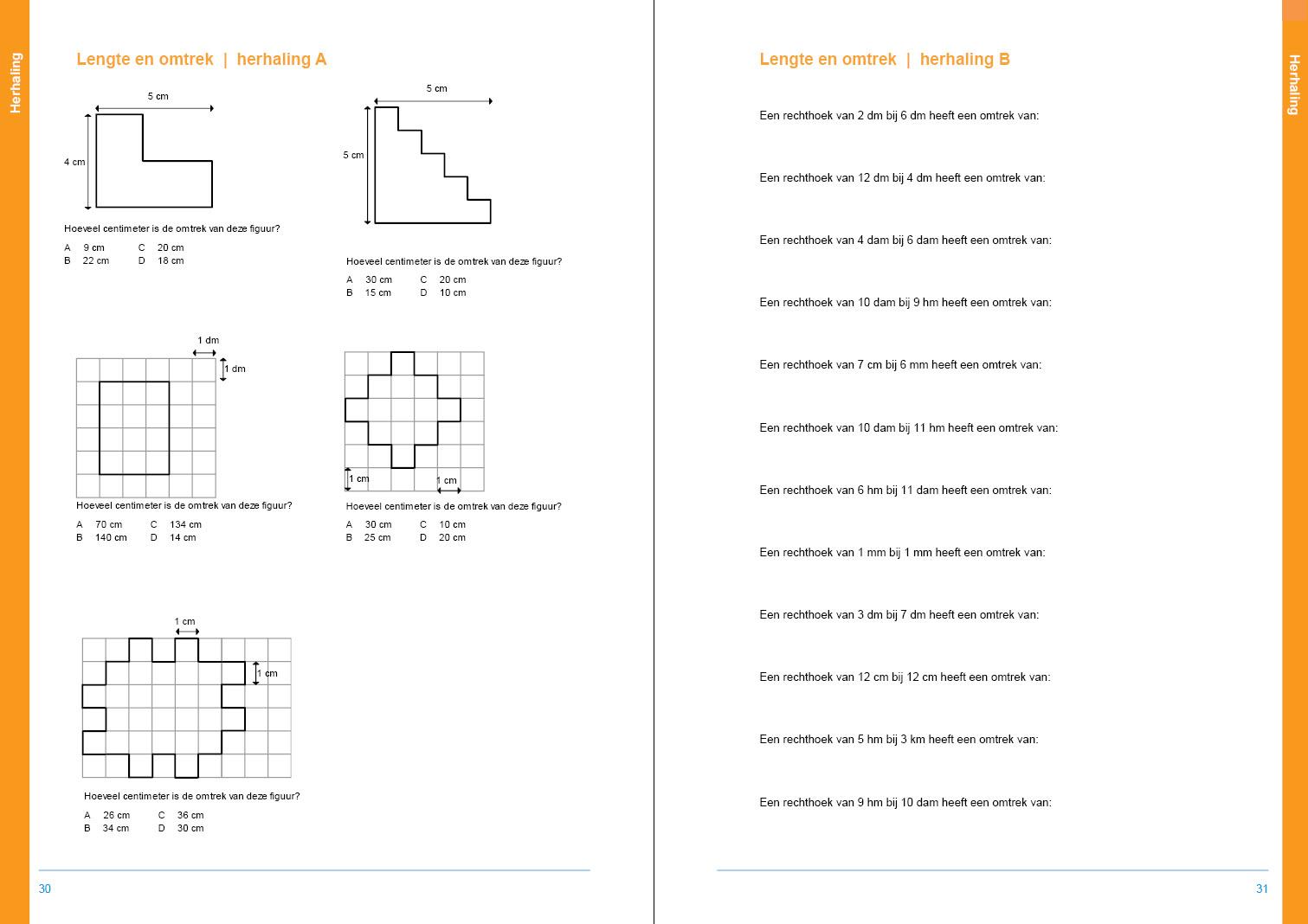 Werkboek Metrieke Stelsel groep 7 en 8 - de sommenfabriek