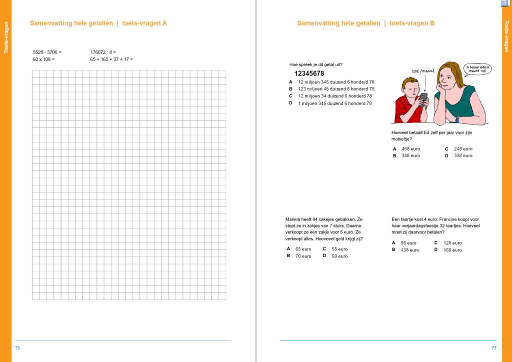 werkboek hele getallen