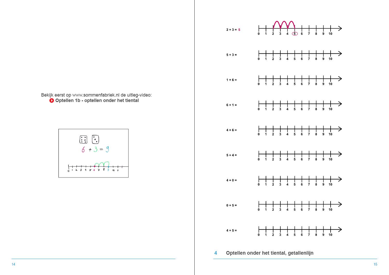 Welp Leerwerkboek Hele getallen groep 3 en 4 - De Sommenfabriek PJ-87